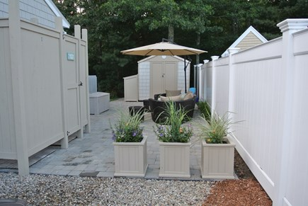 New Seabury, Popponesset New Seabury vacation rental - Outdoor Shower and Patio Area