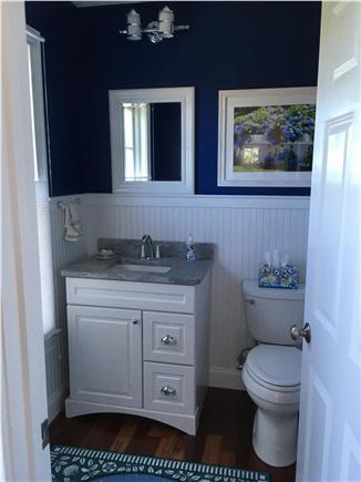 Falmouth Cape Cod vacation rental - Half bathroom