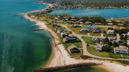 Falmouth Cape Cod vacation rental - Aerial view of our neighborhood