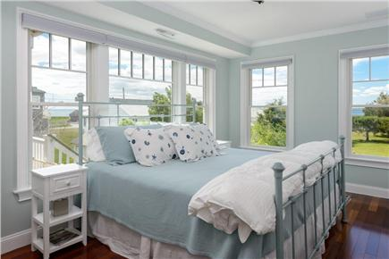 Falmouth Cape Cod vacation rental - Bedroom 1 with ocean view