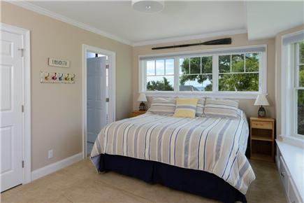 Falmouth Cape Cod vacation rental - Bedroom 2 with ocean view and pond view