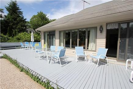 Barnstable Cape Cod vacation rental - Outside Deck w/ Furniture