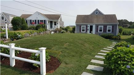 South Yarmouth Cape Cod vacation rental - Front view of cottage.