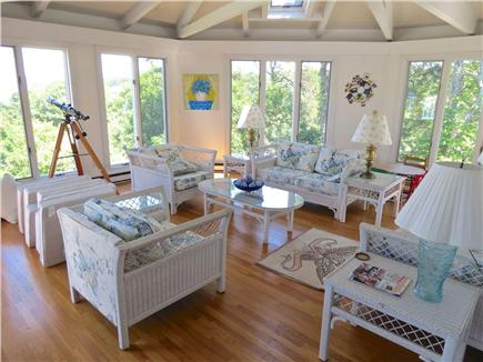Harwich Cape Cod vacation rental - Sun room is one of the property's most appealing spaces.