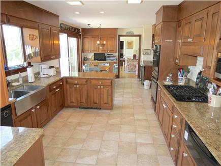 Harwich Cape Cod vacation rental - Large, fully equipped kitchen opens to casual dining area.