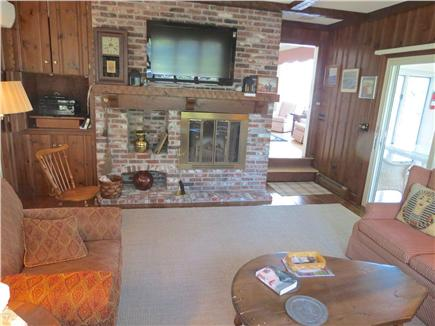 Harwich Cape Cod vacation rental - Main level den and TV lounge