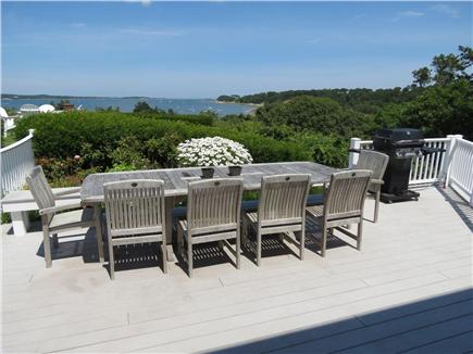 Harwich Cape Cod vacation rental - Dine alfresco while gazing at the boats on the Bay.