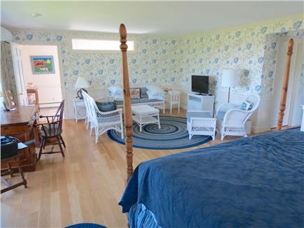 Harwich Cape Cod vacation rental - Master BR with king bed and its own TV lounge.En suite full bath