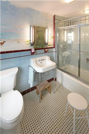Falmouth Cape Cod vacation rental - 1940s vintage bathooms