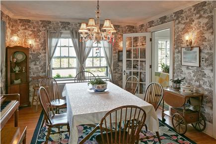 Falmouth Cape Cod vacation rental - Dining Room with piano