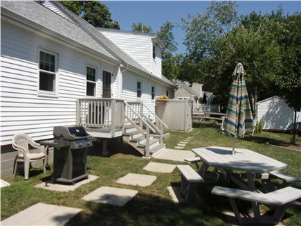 Falmouth Cape Cod vacation rental - Gas grill, outdoor shower-with changing area