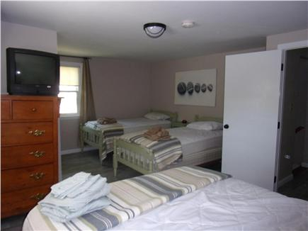 Falmouth Cape Cod vacation rental - Upstairs bedroom, queen bed and 2 twin beds