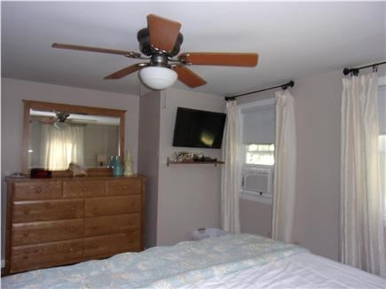Falmouth Cape Cod vacation rental - Downstairs master bedroom  with king bed