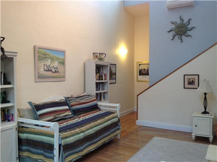 Provincetown Cape Cod vacation rental - Day-bed in living room- Can be 2 twins or a double
