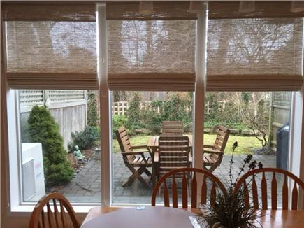 Provincetown Cape Cod vacation rental - View of patio from kitchen table