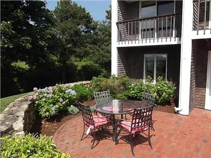 Downtown Chatham Cape Cod vacation rental - Patio - overlooks Oyster Pond Beach