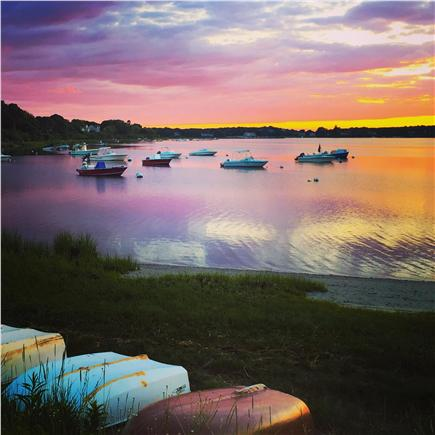 Downtown Chatham Cape Cod vacation rental - Spectacular sunsets! This picture taken by a guest.
