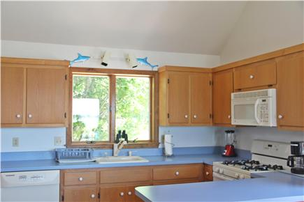 Downtown Chatham Cape Cod vacation rental - Sunny kitchen with views of Oyster Pond!