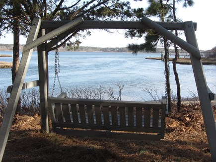 Mashpee Cape Cod vacation rental - Sit in the shade to watch boats, wildlife, or people swimming