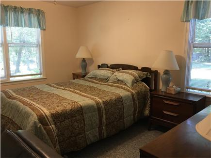 Mashpee Cape Cod vacation rental - The first floor master bedroom with queen bed