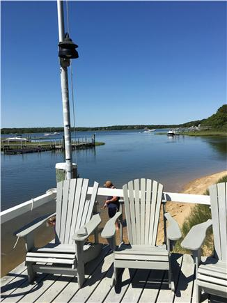 mashpee Cape Cod vacation rental - View from our dock