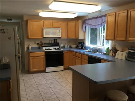 Mashpee Cape Cod vacation rental - Our fully equipped kitchen and breakfast bar