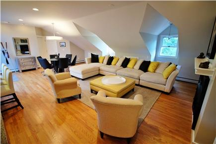 Provincetown Cape Cod vacation rental - Spacious comfortable living room