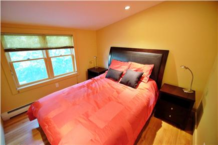 Provincetown Cape Cod vacation rental - Red Bedroom - Queen Bed