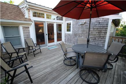 Provincetown Cape Cod vacation rental - Entry Deck
