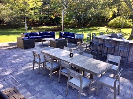 Harwich Cape Cod vacation rental - New Outside Patio/Bar/Fire Pit area