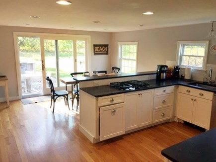 Harwich Cape Cod vacation rental - Kitchen view to Outside