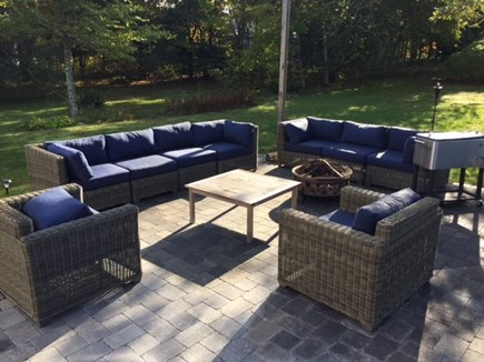 Harwich Cape Cod vacation rental - Patio Sitting Area