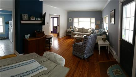 Harwich Cape Cod vacation rental - View into living room from dining room