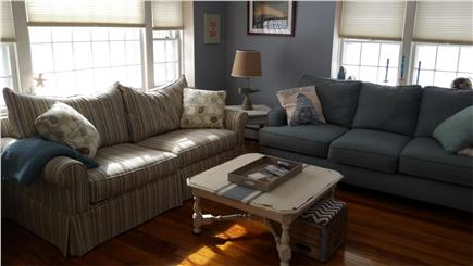 Harwich Cape Cod vacation rental - Living room with pull out sofa
