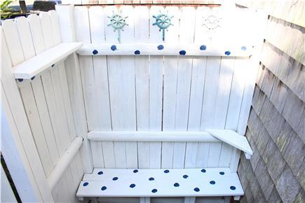 Harwich Cape Cod vacation rental - Outside shower