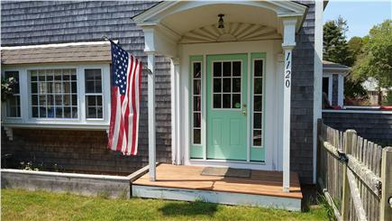 Harwich Cape Cod vacation rental - Front Entrance