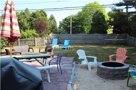 Harwich Cape Cod vacation rental - Another view of back yard
