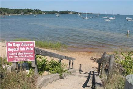 South Orleans Cape Cod vacation rental - Pleasant bay beach only 2/10ths of mile away
