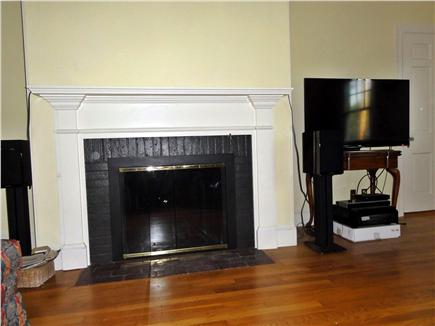 Hyannis Cape Cod vacation rental - Fireplace and UHD TV