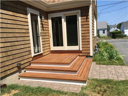 Hyannis Cape Cod vacation rental - Small deck