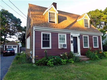 Hyannis Cape Cod vacation rental - The house faces north.