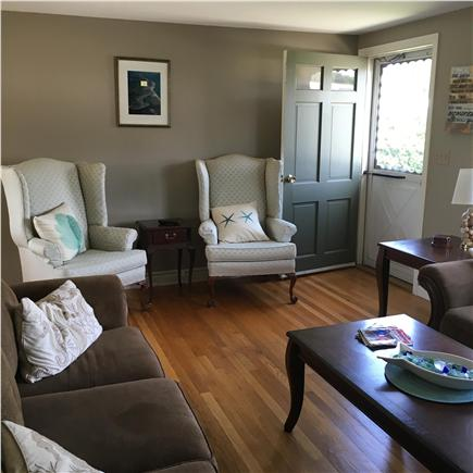 West Dennis Cape Cod vacation rental - Living Room and entrance