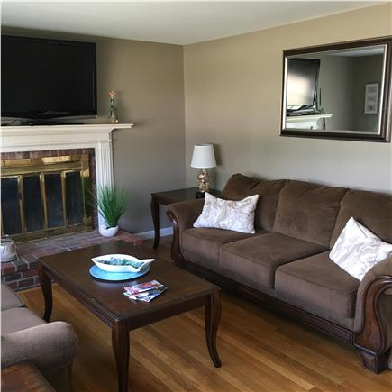 West Dennis Cape Cod vacation rental - Living Room with flat screen TV