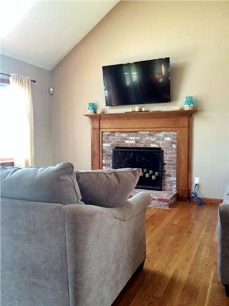 Sagamore Beach, Sandwich Sagamore Beach vacation rental - Upstairs living room w/ ocean views