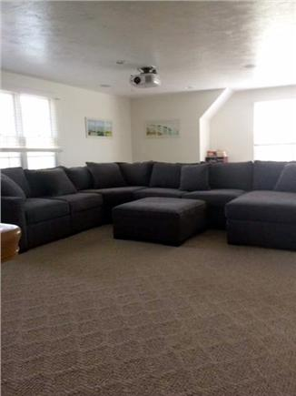 Sagamore Beach, Sandwich Sagamore Beach vacation rental - Huge media room with movie projector for family movie nights!