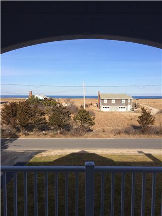 Sagamore Beach, Sandwich Sagamore Beach vacation rental - Ocean view from front deck