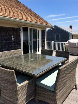 Sandwich Cape Cod vacation rental - Beautiful wrap-around deck with ocean views, outdoor dining, bbq