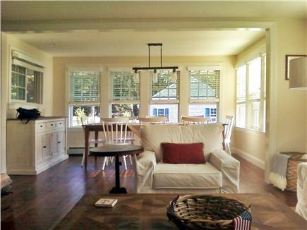 Harwich Cape Cod vacation rental - View from Living Room into Dining  Room