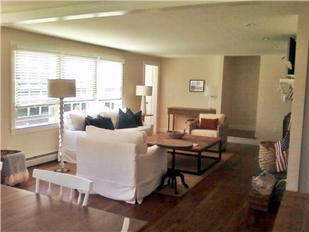 Harwich Cape Cod vacation rental - View from Dining Area into Living Room