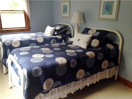 East Orleans Cape Cod vacation rental - 2nd floor twin beds large walk in closet. Antique bureau